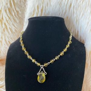 🆕Birthstone charm Necklace